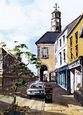 Painting - High Street Kilkenny by Val Byrne