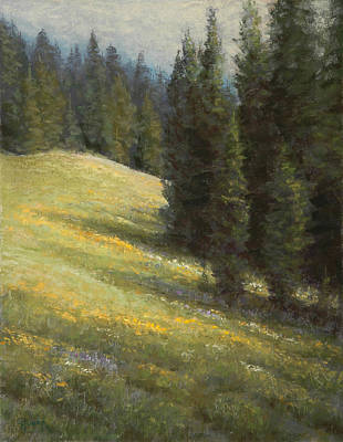 Painting - High Summer by Gary Huber