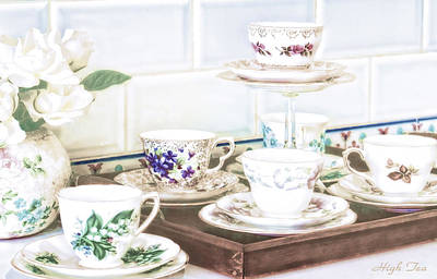 English Photograph - High Tea by Holly Kempe
