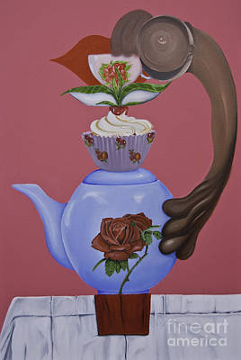 Painting - High Tea by James Lavott