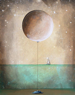 Whimsical Painting - High Tide by Cindy Thornton