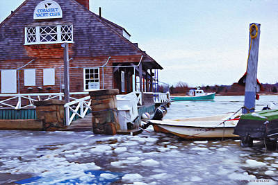 Woden Wall Art - Photograph - High Tide In Cohasset II by Carol Sutherland