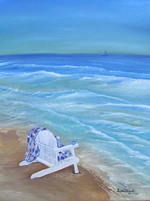 Painting - High Tide by Linda Clark