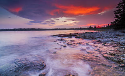 Laval Photograph - High Tide by Mircea Costina Photography