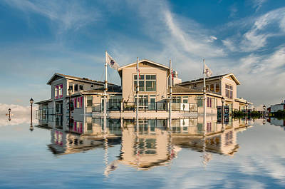 Photograph - High Tide On The Boardwalk by Greg Nyquist