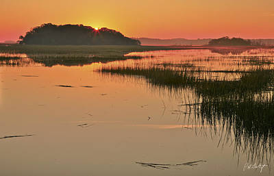Lowcountry Marshes Photograph - High Tide Sunrise by Phill Doherty