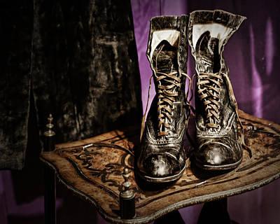 Womens Photograph - High Top Shoes by Nikolyn McDonald