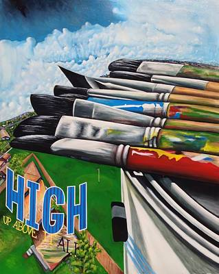 High Up Above It All Art Print by Randy Segura