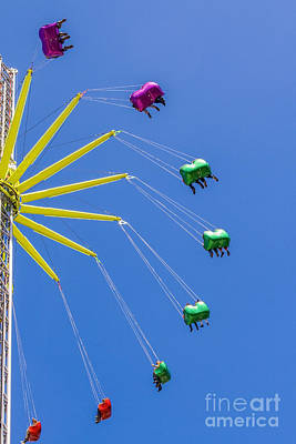 Rollercoaster Photograph - High Up In The Sky by Patricia Hofmeester