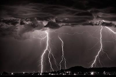 Photograph - High Voltage by Brad Brizek