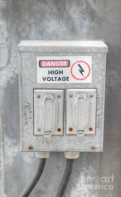 Photograph - High Voltage by Dale Powell