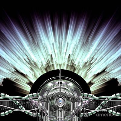 High-voltage Generator Art Print by Diuno Ashlee