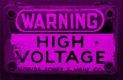 Catch Of The Day - High Voltage Purple by Rob Hans