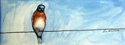 Painting - High Wire by Erin Rickelton
