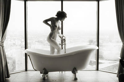 Nude Photograph - Highbath by Georgy Goryunov