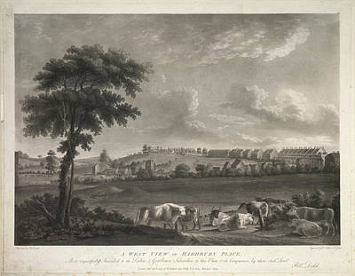 Highbury Place Art Print by British Library