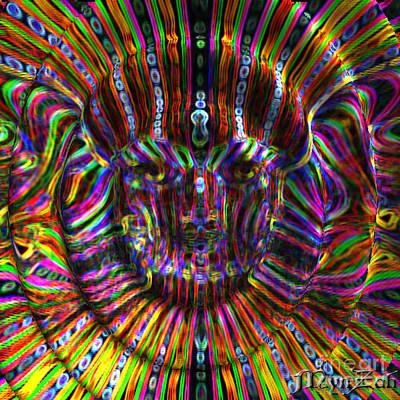Digital Art - Higher Self by Mynzah Osiris