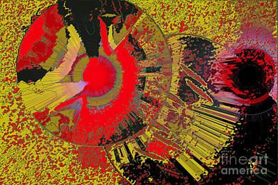 Higher Selves Digital Art - Higher Self No'2 by Chris R Kitchener