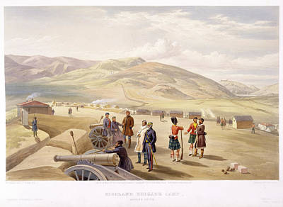Highland Brigade Camp Art Print by British Library
