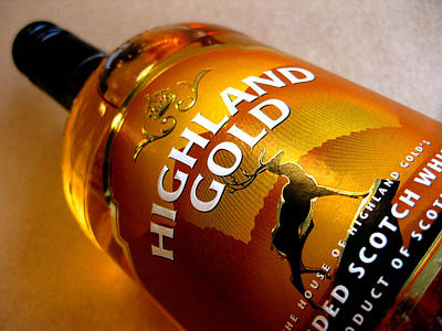 Photograph - Highland Gold Scotch Whisky by Nop Briex