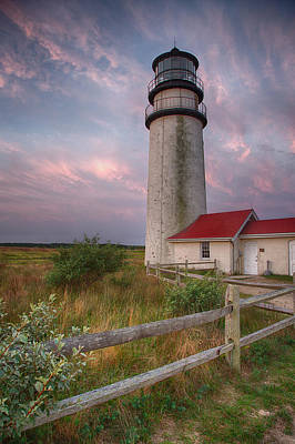 Lighthouse Photograph - Highland Light by Betty Wiley