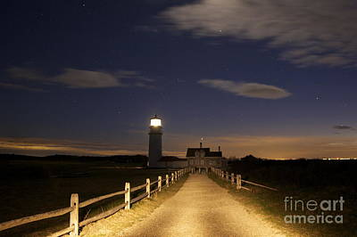 Highland Light North Truro Art Print