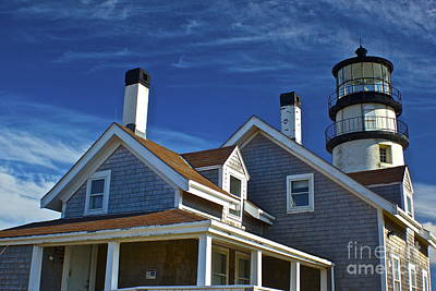 Photograph - Highland Light Truro by Amazing Jules