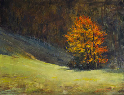 Schmid Painting - Highland Meadows by Carlos Herrera