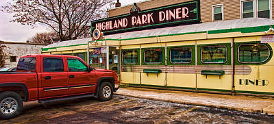 Photograph - Highland Park Diner II by Robert Culver
