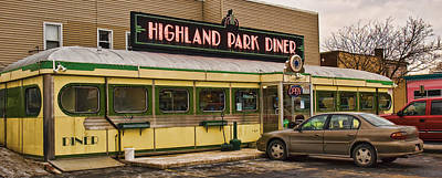 Photograph - Highland Park Diner by Robert Culver