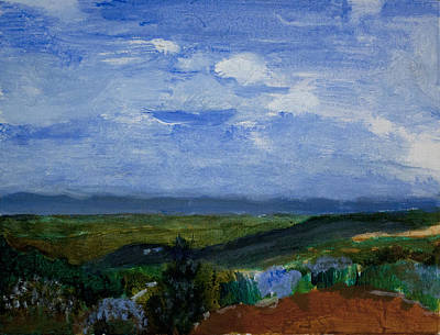 Ethiopia Painting - Highlands Of Ethiopia A by Jeremy Phelps