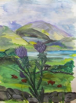 Highlands Art Print