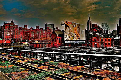Highline Nyc Art Print by Joe  Burns