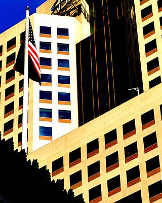 Art Print featuring the photograph Highmark by Mary Beth Landis