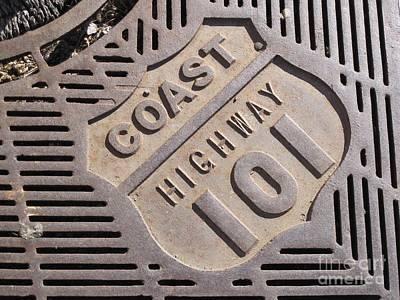 Highway 101 Original by Laura Paine