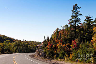Photograph - Highway 17 North Of Lake Superior by Les Palenik