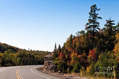 Pasta Al Dente - Highway 17 north of Lake Superior by Les Palenik
