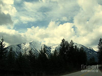 Photograph - Highway 3a by Leone Lund