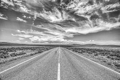 Highway 64 Print by Gestalt Imagery