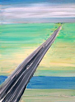 Highway Art Print by Fabrizio Cassetta