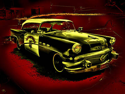 Highway Patrol Art Print by John Monteath
