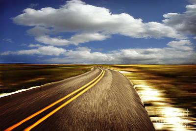 South Louisiana Photograph - Highway Run by Scott Pellegrin