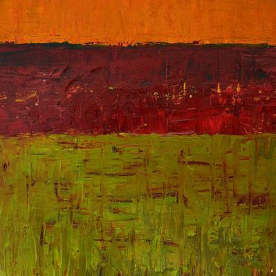 Moody Painting - Highway Series - Plains by Michelle Calkins
