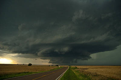 Crop Rotation Wall Art - Photograph - Highway To Hail by Brandon  Ivey