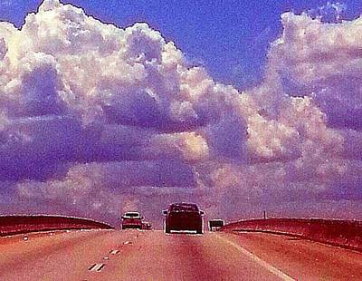 Art Print featuring the photograph Highway To Heaven Too by Joetta Beauford