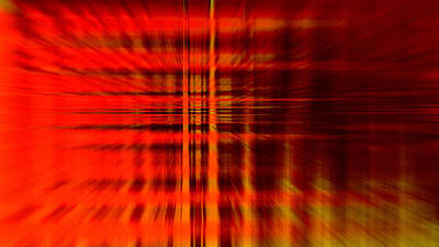 Abstract Digital Photograph - Highway To Hell by Steve K