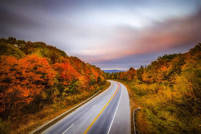 Photograph - Highway To The Lakes by Robert Clifford