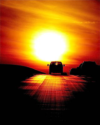Photograph - Highway To The Sun by Jean Wright