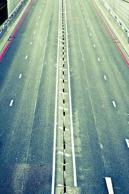 Asphalt Photograph - Highway by Tom Gowanlock