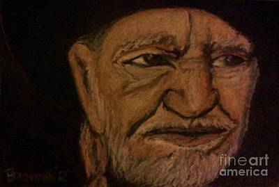 Willie Nelson Drawing - Highwayman by Christy Saunders Church